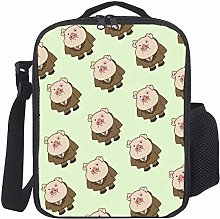 Lunch Bag Kids Lunch Rucksack Cool Funny Pig Face
