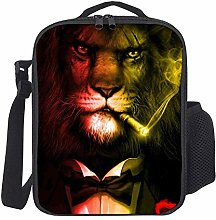 Lunch Bag Kids Lunch Rucksack Cool King Lion Mit