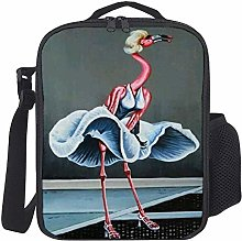 Lunch Bag Kids Lunch Rucksack Cool Lady Pink