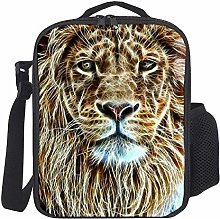 Lunch Bag Kids Lunch Rucksack Cool Lion Lunch Bag