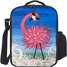 Lunch Bag Kids Lunch Rucksack Cool Pink Flamingo