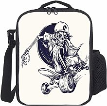 Lunch Bag Kids Lunch Rucksack Cool Skeleton