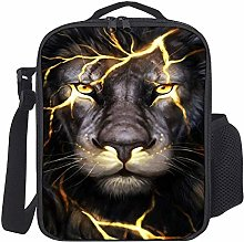 Lunch Bag Kids Lunch Rucksack Feuer Cool King Lion