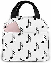 Lunch Bag Musical Note Reusable Lunch Box Lunch
