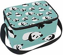 Lunch Bag Panda Bear Cartoon Cooler for Picnic