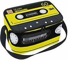 Lunch Bag Retro Music Tape Cassette Cooler for