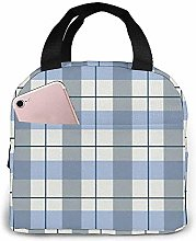 Lunch Bag Retro-Pattern Reusable Lunch Box Lunch