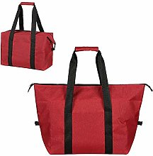 Lunch Bag, Soft Reusable Insulated Cooler Bag for