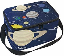 Lunch Bag Sun Planets and Stars with Solar System