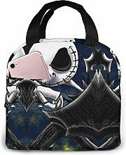 Lunch Bag Tote Cool Jack Skellington Lunchbox