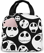 Lunch Bag Tote Horrible Jack Skellington Lunchbox