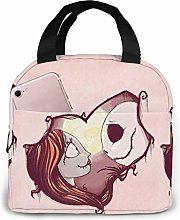 Lunch Bag Tote Love Nightmare Before Christmas