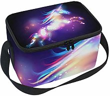 Lunch Bag Unicorn Magic with Stars Cooler for