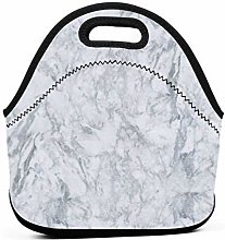 Lunch Bags,Marble Art Texture Lunch Box Reusable