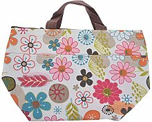 Lunch Box Bag Tote Insulated Cooler Carry Bag for