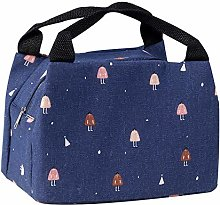 Lunch Box Insulated Bag Portable Zipper Insulated