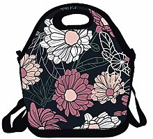 Lunch Box Tote Handbag Lunch Bag Insulated Cooler