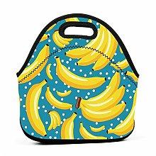Lunch Cooler Bag,Banana Cool Lunch Bag Cool Bag