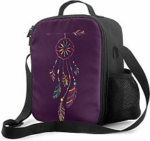 Lunch Cooler Bag Card with Native Indian American