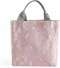 Lunch Food Bag Cotton Linen Fashion Waterproof