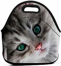 Lunch Tote Box Cool Bag,Cat Lunch Cooler Bag