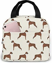 Lunch Tote Boxer Dog Lunch Bag Colourful Gift
