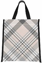 Lunchbag Bag Gray Colorful Nordic Morden Painting
