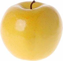 Lunji 10pcs Artificial Fruit Apple Realistic Fake