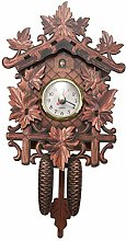 Luntus Vintage Home Decorative Bird Wall Clock