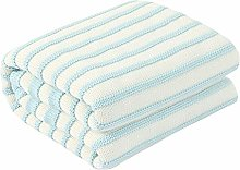 LUO Blankets Baby Knitted Blanket, Soft and