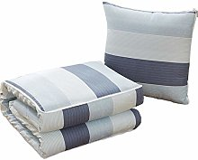 LUO Blankets Multifunctional Pillow Quilt, with