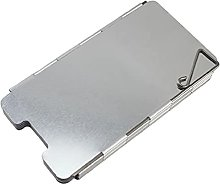 LuohuiFang Folding Outdoor 9 Plates Aluminum Alloy