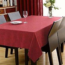 LUOLUO Rectangular Table Cloth Waterproof