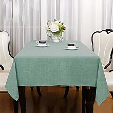 LUOLUO Rectangular Tablecloth Stain Proof