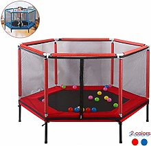 LuoMei Children's Bounce Trampoline Fitness