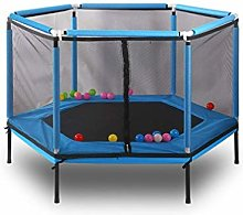 LuoMei Children's Trampoline Household Bouncy