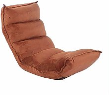 LuoMei Folding Floor Chair Lounge Sofa Chair for