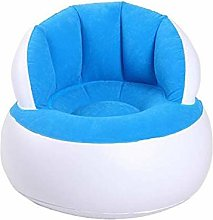 LuoMei Inflatable Sofa Chair Camping Chair Flocked