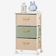 LuoMei Kitchen Trolley Serving Cart Household