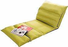 LuoMei Lazy Folding Sofa Comfortable Semi Foldable