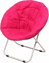 LuoMei Metal Lounger Chair Lazy Sofa Moon Saucer