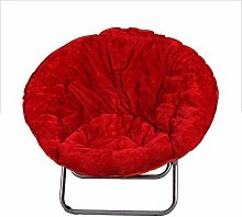 LuoMei Oversized Folding Moon Chair Lazy Sofa