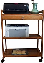 LuoMei Printer Stand 3-Tier Printer Cart Perfect