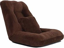LuoMei Sofa with Cushion Lazy Floor Sofa Lounger
