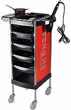 LuoMei Storage Trolley on Wheels 6-Tier Beauty
