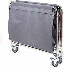 LuoMei Storage Trolley on Wheels Folding Linen