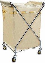 LuoMei Storage Trolley on Wheels Folding X-Type