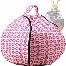 LuoMei Stuffed Animal Storage Bean Bag Lazy Sofa
