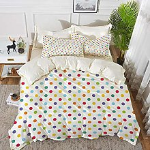 Luoquan 3 Piece Bedding Set,Abstract,Colorful