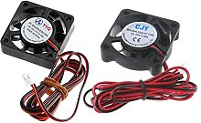 luosh 1 Piece DC 24V 2-Pin Cooling Fan,40mm PC